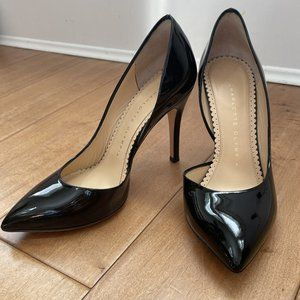 Charlotte OlympiaThe Lady is a Vamp Patent Pump